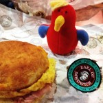 Ham, egg and cheddar at Earl of Sandwich in Downtown Disney, Florida (1/18/13) 8 (A very good breakfast sandwich)