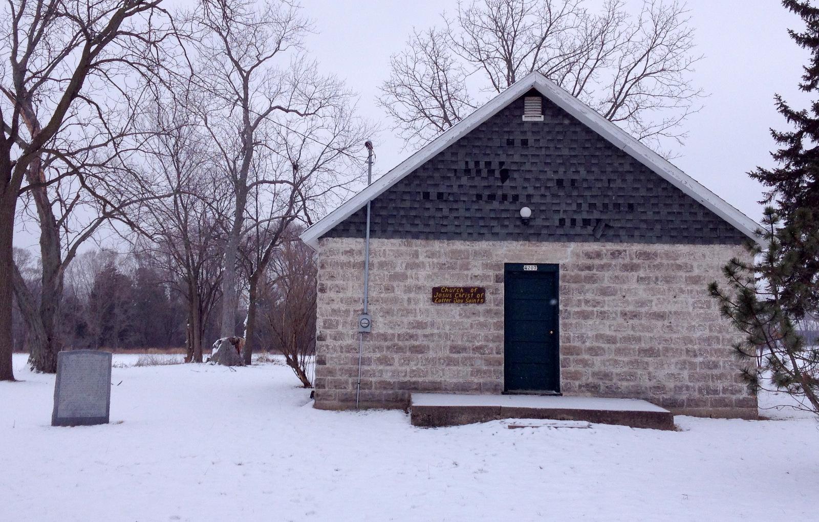 Mormon building