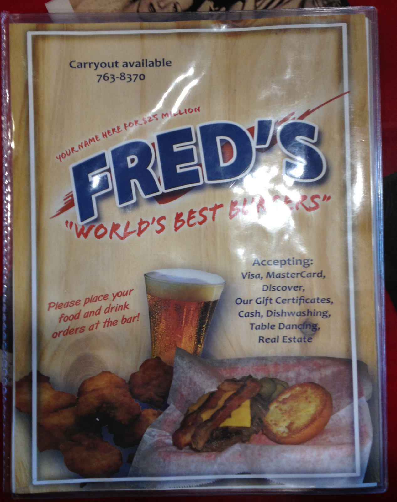 Fred's in Burlington
