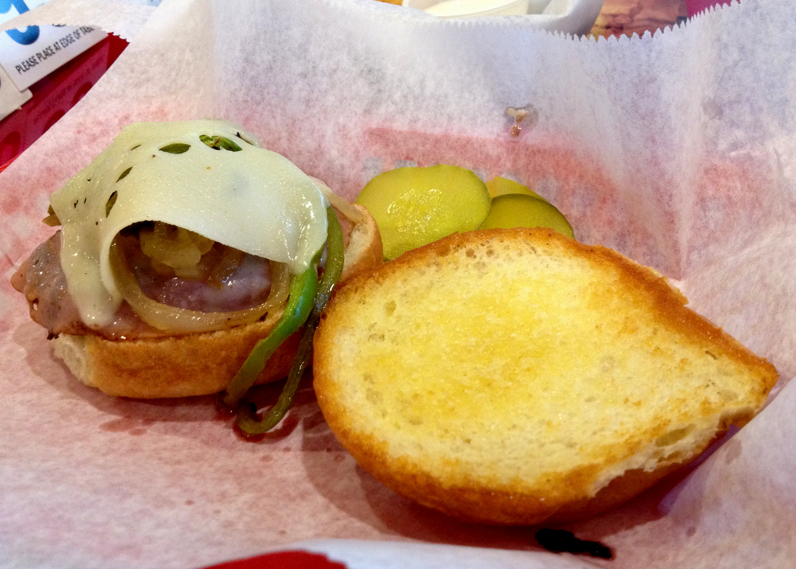 Fred's burger