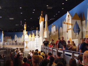 """Waiting in life for """"it's a small world"""""""