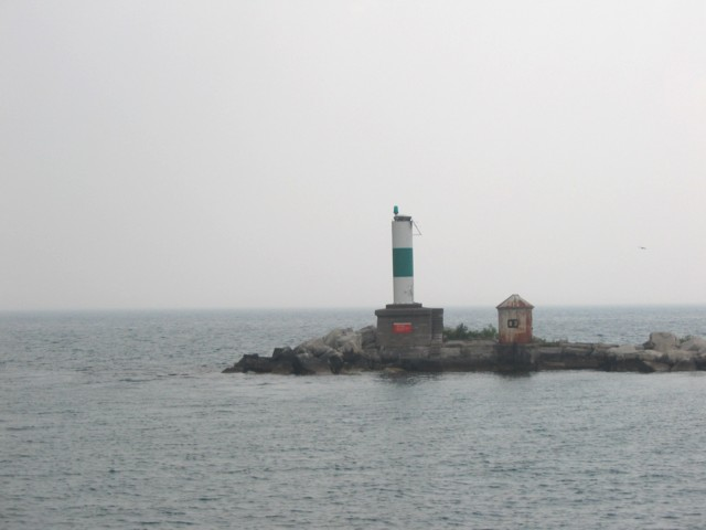 Entrance to Chicago Harbor