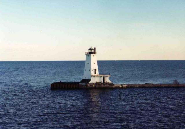 Ludington North Pierhead Lighthouse, Ludington, Michigan