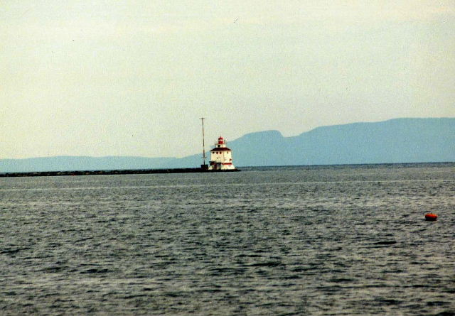 Thunder Bay Lighthouse - Thunder Bay, Ontario, Canada - July, 1996