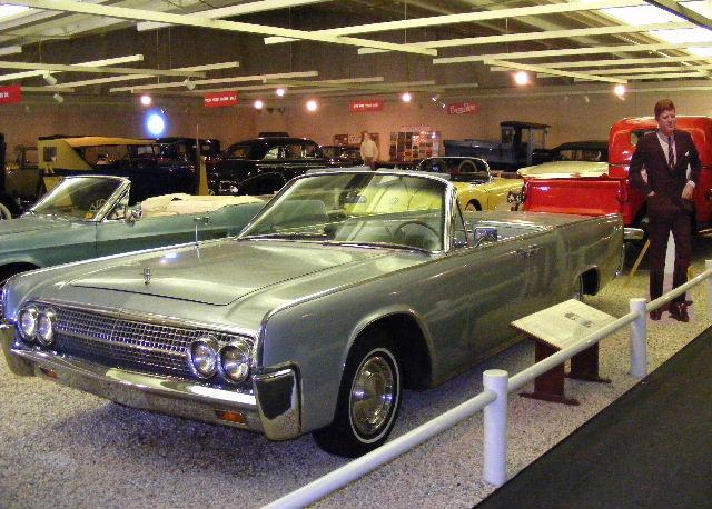 JFK's 1963 Lincoln