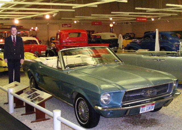 Bill Clinton's 1967 Mustang
