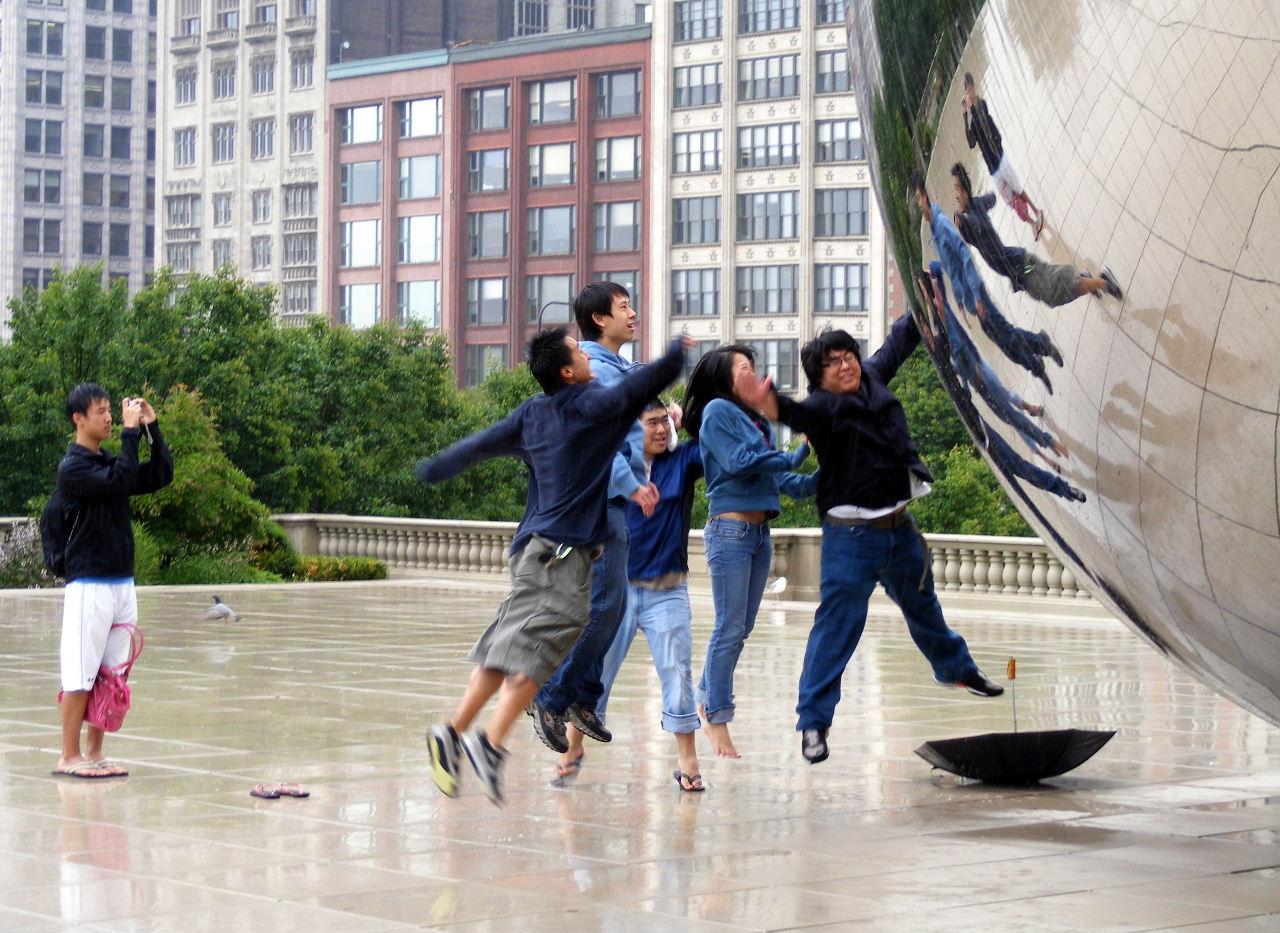 Millennium Park, Chicago — June 11, 2009