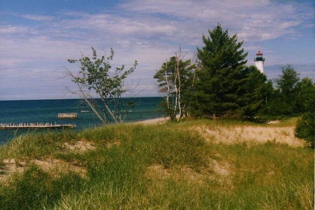 Crisp Point Lighthouse - Paradise, Michigan - June, 2003