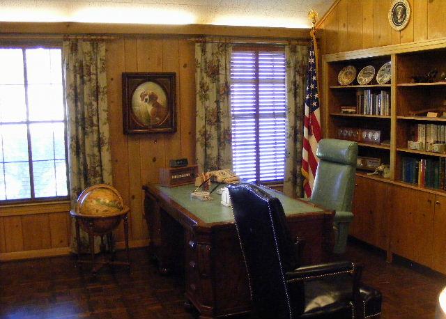 LBJ's desk