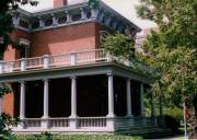 Benjamin Harrison's house - front view