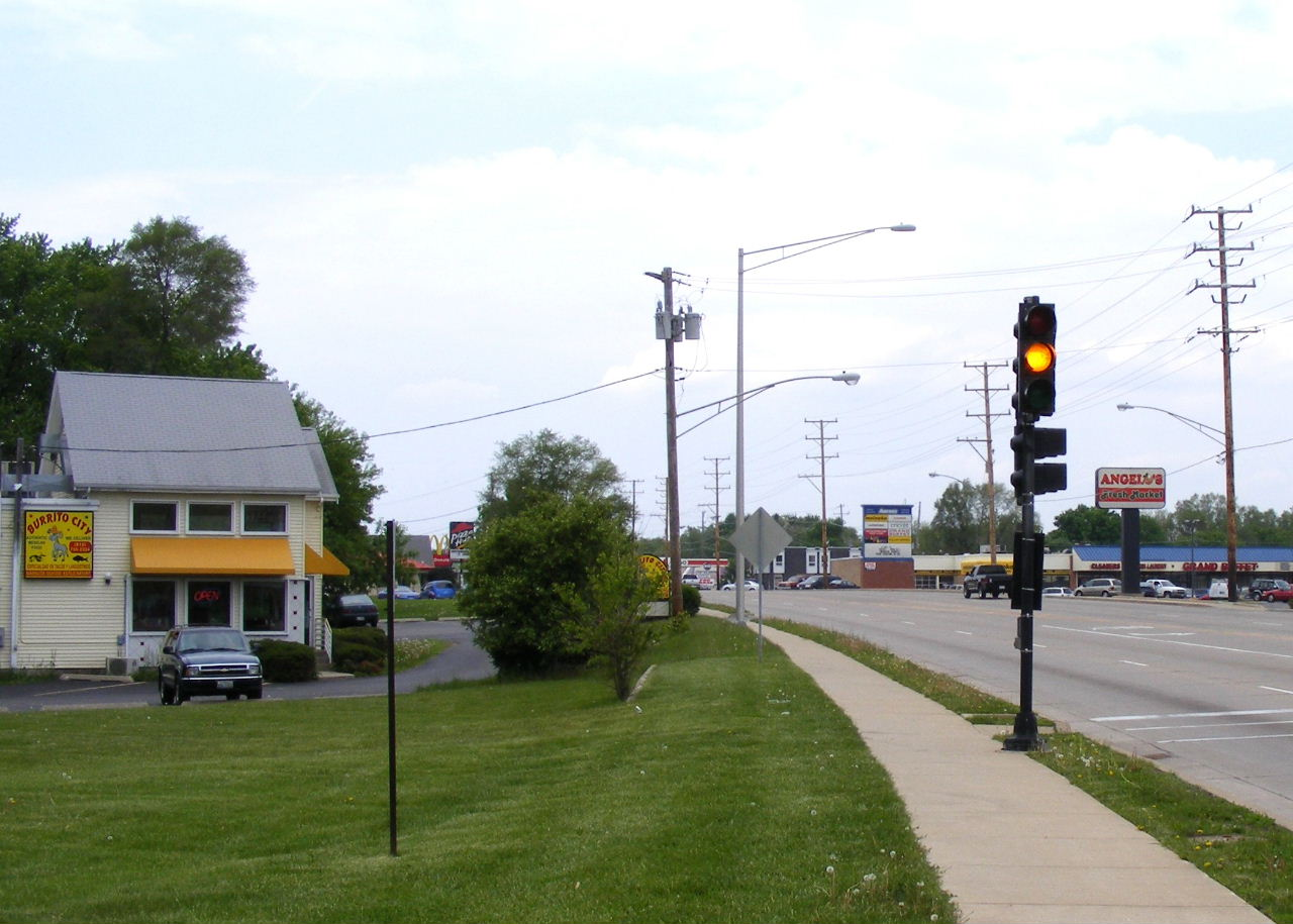 Route 120 in McHenry